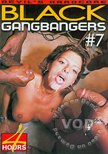 Black Gangbangers #7 Box Cover