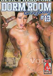 Dorm Room Gangbang #13 Box Cover