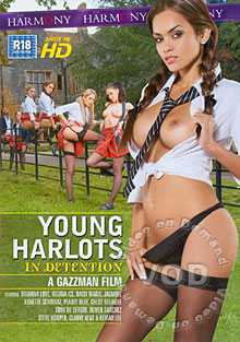 Young Harlots In Detention Box Cover