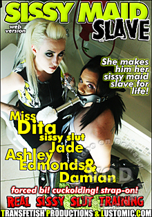 Sissy Maid Slave Box Cover
