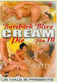 Bareback Bisex Cream Pie Film 10 Box Cover