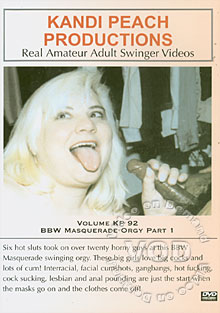 Volume KP 92 - BBW Masquerade Orgy Part 1 Box Cover