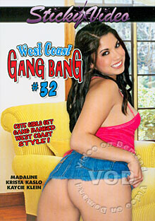 West Coast Gang Bang #32 Box Cover