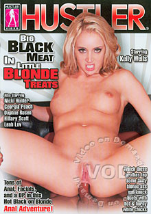 Big Black Meat In Little Blonde Treats Box Cover