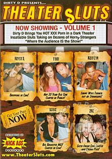Theater Sluts Volume 1 Box Cover