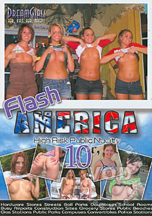 Flash America 10 - High Risk Public Nudity Box Cover