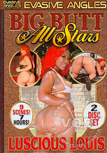 Big Butt All Stars - Luscious Louis (Disc 2) Box Cover