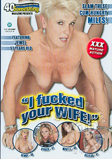 I Fucked Your Wife! Box Cover