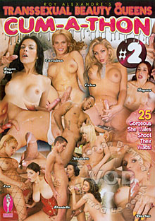 Transsexual Beauty Queens Cum-A-Thon #2
