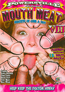 Mouth Meat VIII Box Cover