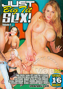 Just Big Tit Sex! Volume 4 Box Cover