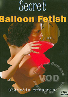 Secret Balloon Fetish Box Cover