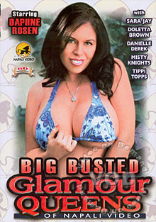 Big Busted Glamour Queens Of Napali Video Box Cover