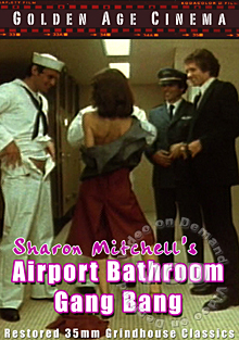 Sharon Mitchell's Airport Bathroom Gang Bang Box Cover