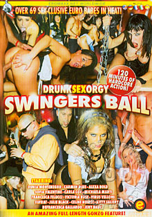 Drunk Sex Orgy - Swingers Ball Box Cover