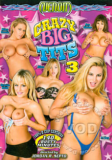 Crazy Big Tits 3 Box Cover
