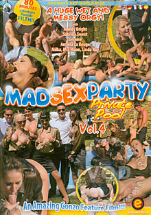Mad Sex Party Vol. 4 - Private Pool Box Cover