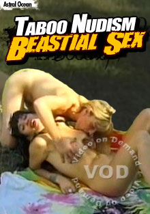 Taboo Nudism Beastial Sex Box Cover