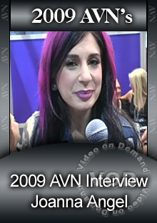 2009 AVN Interview - Joanna Angel Box Cover