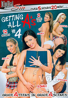 Getting All A+'s #4 (Disc 1) Box Cover