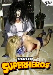 Tickled Superheroes Box Cover