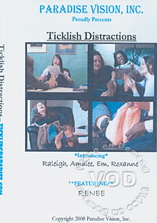 Ticklish Distractions Box Cover