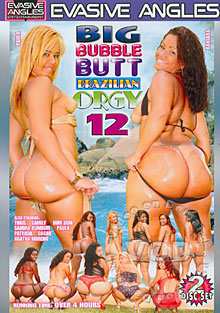 Big Bubble Butt Brazilian Orgy 12 (Disc 2) Box Cover