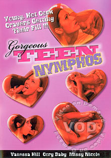 Gorgeous Teen Nymphos Box Cover