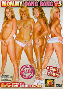 Mommy Gang Bang 5 Box Cover