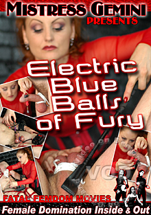 Electric Blue Balls Of Fury Box Cover