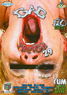 Gag Factor 29 Box Cover