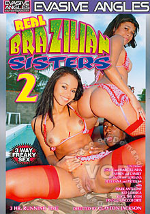 Real Brazilian Sisters 2 Box Cover