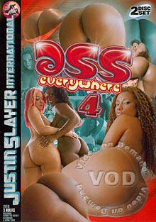 Ass Everywhere 4 Disc1 Box Cover