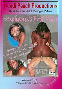 Volume KP 117 Stephanie's First Video Box Cover