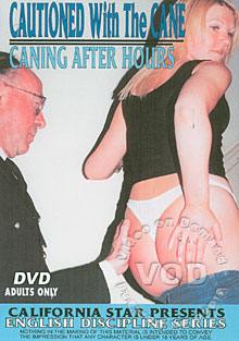 Cautioned With The Cane - Caning After Hours Box Cover