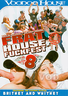 Frat House Fuckfest 8 Box Cover