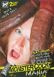 Monster Cock Mania (Disc 1) Box Cover