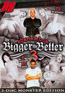 Shane & Boz : The Bigger The Better #3 (Disc One) Box Cover