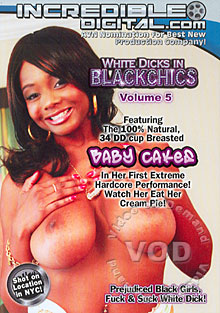 White Dicks In Black Chics Volume 5 Box Cover