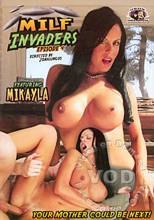 MILF Invaders Episode 4 Box Cover