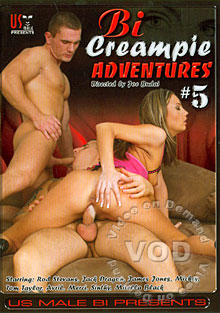 Bi Creampie Adventures #5 Box Cover