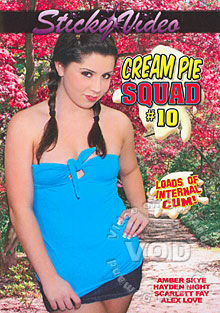 Cream Pie Squad #10 Box Cover
