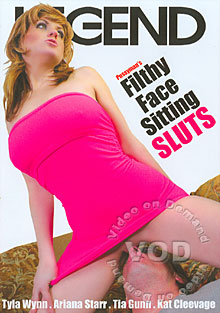 Filthy Face Sitting Sluts Box Cover