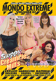 Mondo Extreme Volume 82 - Sloppy Creampie MILFs Box Cover