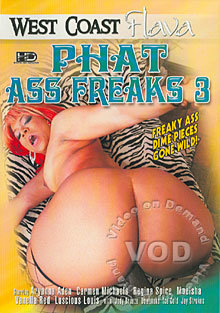 Phat Ass Freaks 3 Box Cover