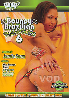 Bouncy Brazilian Bubble Butts 6 Box Cover
