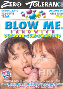 Blow Me Sandwich - Outdoor Cum Swapping Box Cover