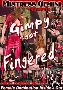 Gimpy Got Fingered Box Cover