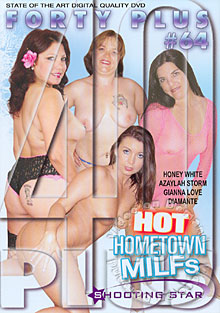 Forty Plus #64 - Hot Hometown MILFs Box Cover