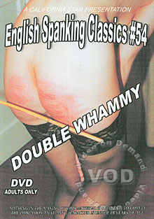 English Spanking Classics #54 - Double Whammy Box Cover
